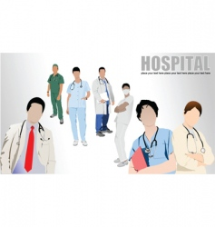 hospital vector image vector image