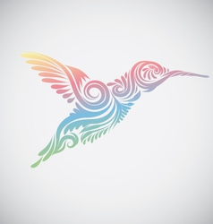 Hummingbird Ornamental vector image