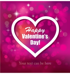 The Valentine s Day vector image vector image