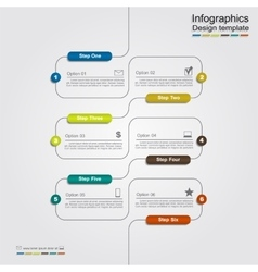 Infographic template with place for your data vector