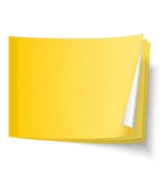 Sticky note vector