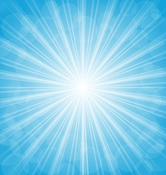 Summer background show light rays vector