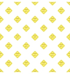 Label perfect price pattern cartoon style vector