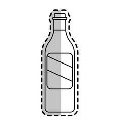 Beer bottle icon image vector