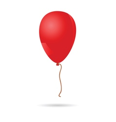 Baloon red vector