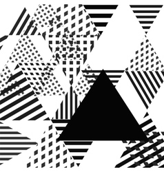 Abstract simple geometric triangle background vector