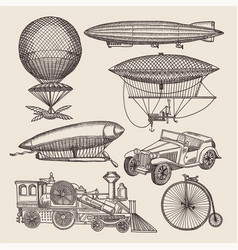 Different retro transport vector