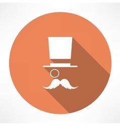Gentleman icon vector image vector image