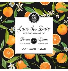 Invitation Congratulation Card Set - for Wedding vector image vector image
