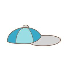 A cap vector image