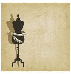 sewing background vector image