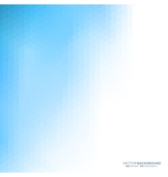 Blue light abstract background vector