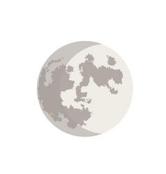 Crescent moon 1 vector