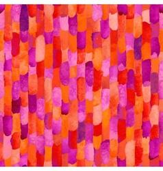 Watercolor bricks abstract seamless vector image