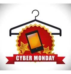 Cyber monday sale event vector