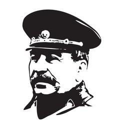 Joseph Stalin vector image