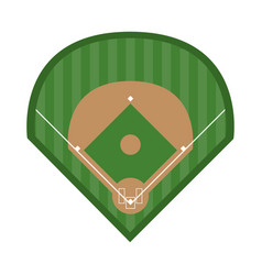 Baseball related icon image vector