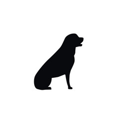Isolated husky icon pooch element can be vector