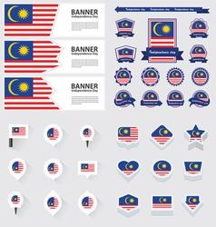 Set malaysia vector
