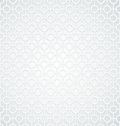 White Abstract Vintage seamless background vector image vector image