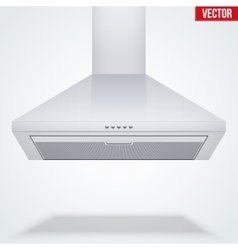 Exhaust range cooker hood vector image