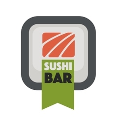Logo design for restaurants of japanese food vector