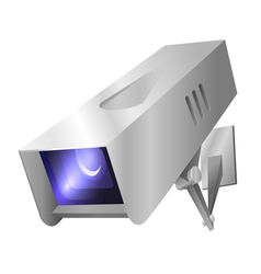 Outdoor security camera vector image vector image