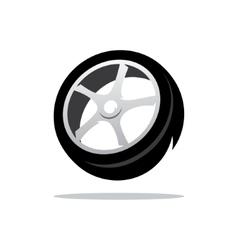 Tyre cartoon vector