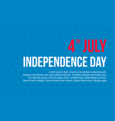 Happy independence day banner collection vector