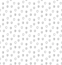 Security guard seamless pattern vector
