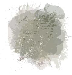 Abstract watercolor spot background splash vector