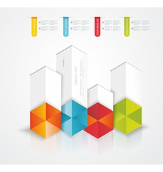 Modern Design template Infographic vector image