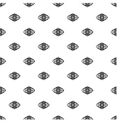 Eye and target pattern vector