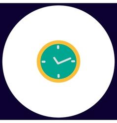 watch computer symbol vector image vector image