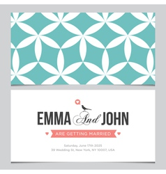 Wedding card pattern 03 vector