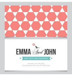 Wedding card pattern 04 vector
