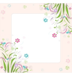 Romantic scrapbooking for invitation greeting vector