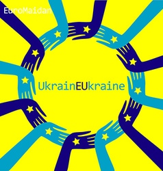 EuroMaidanH vector image vector image