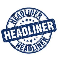 Headliner stamp vector