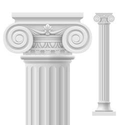 Roman column vector image