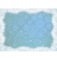 Winter christmas card background EPS 8 vector image