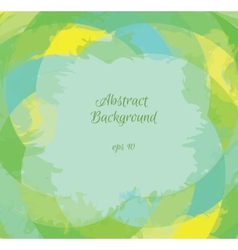 Abstract background in green shades eps10 vector image
