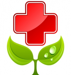 health care sign vector image