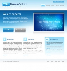 business website vector image vector image