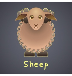 Fanny sheep vector