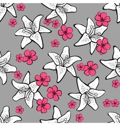 FlowersBackground vector image vector image