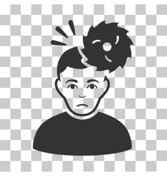 Headache icon vector