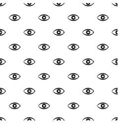 human eye pattern vector image