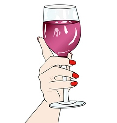 In vino veritas vector