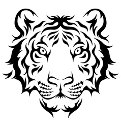 Tiger tribal vector
